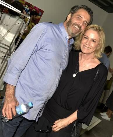 Claudio Pereira e Marcia Peltier /Foto: Cristina Granato