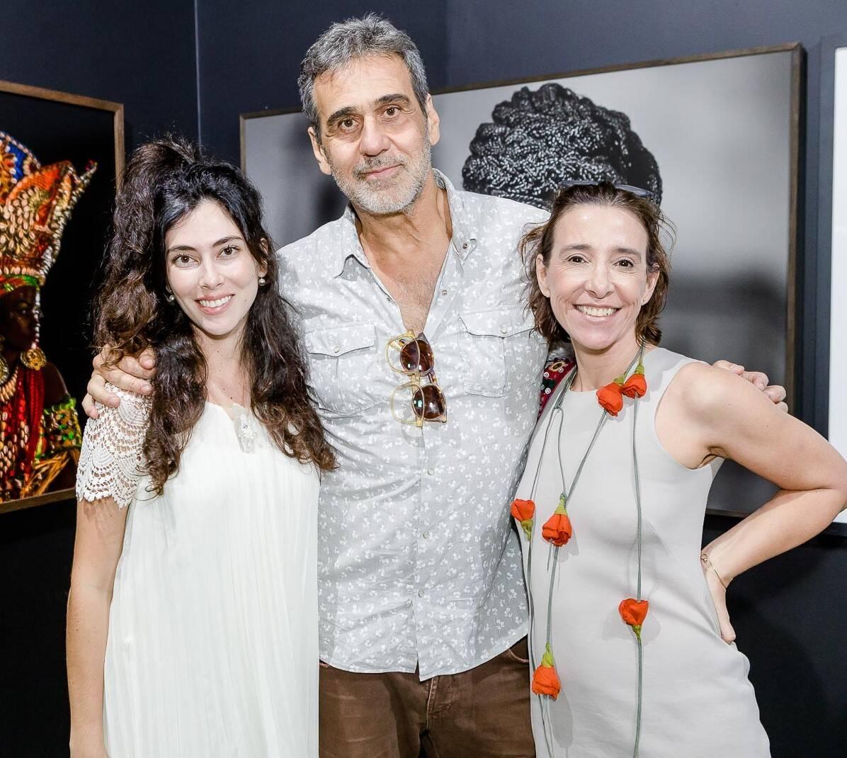 Talitha Rossi, Marcos Prado e Ana Quintella /Foto: Bruno Ryfer, Miguel Sá e Túlio Thomé