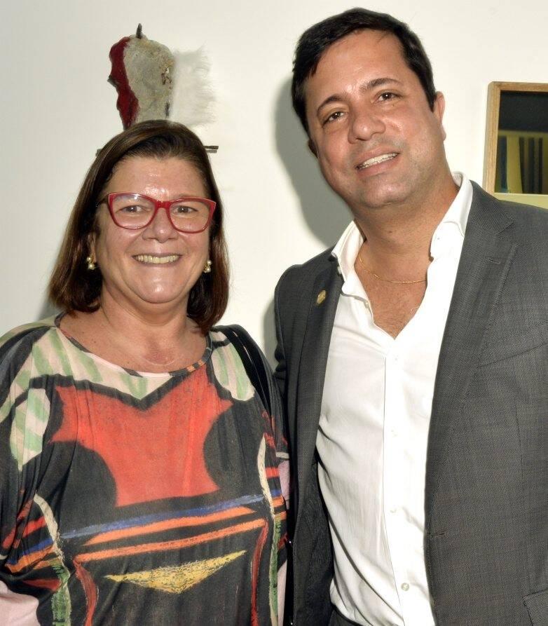 Andréa Pachá  e Eduardo Braule-Wanderley  /Foto: Cristina Granato