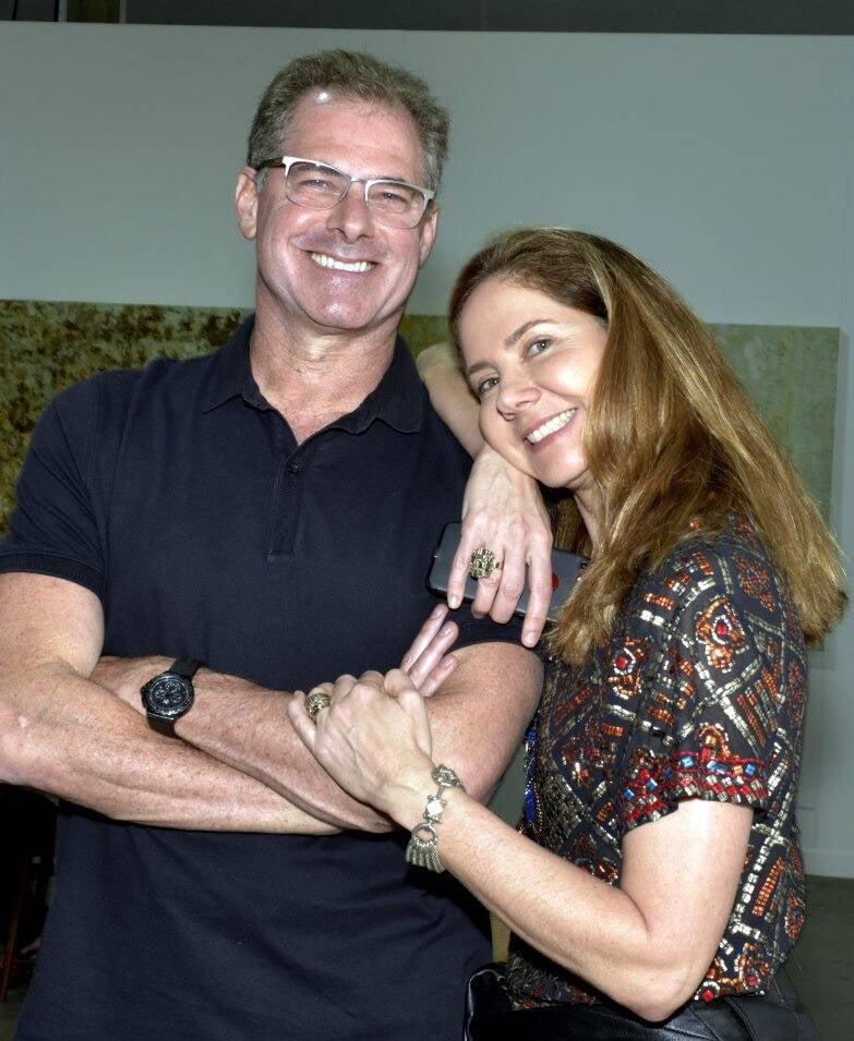 Roberto Kreimer e Beth Garcia  /Foto: Cristina Granato