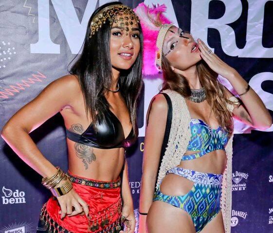 Gabriela Alves e Nina Paccaud