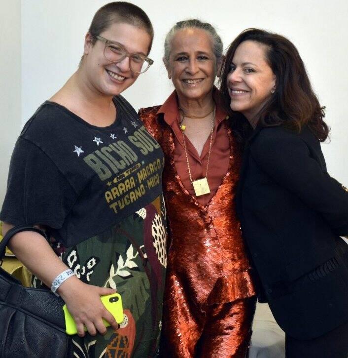 Alice Caymmi, Maria Bethânia e Bebel Gilberto  - Foto:  Cristina Granato