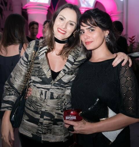 Marina Ribas e Maria Canto