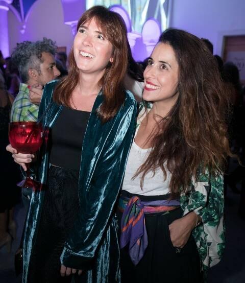 Martha Pinel e Renata Valois