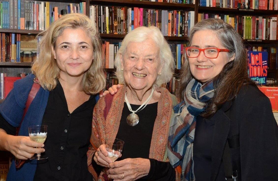 Susi Mota, Odette Ernest Dias e Francisca Aquino  /Foto: Marco Rodrigues