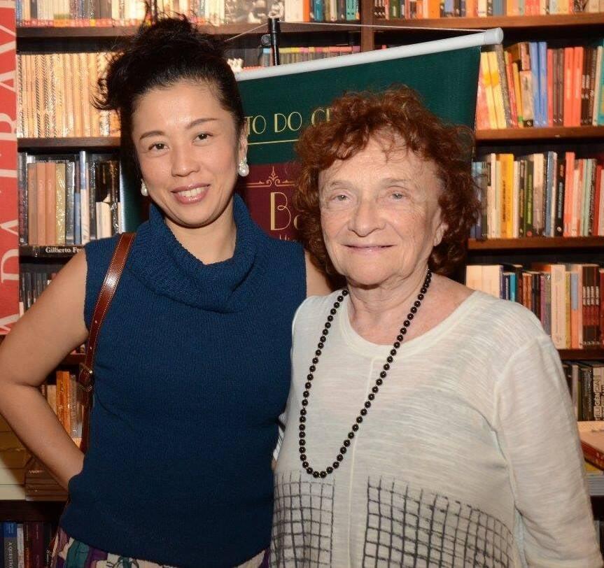 Yuka Shimizu e Clara Svener  /Foto: Marco Rodrigues