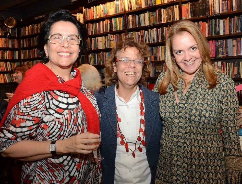 Anete Rubin, Monica Barros e Fernanda Poyares  /Foto: Marco Rodrigues