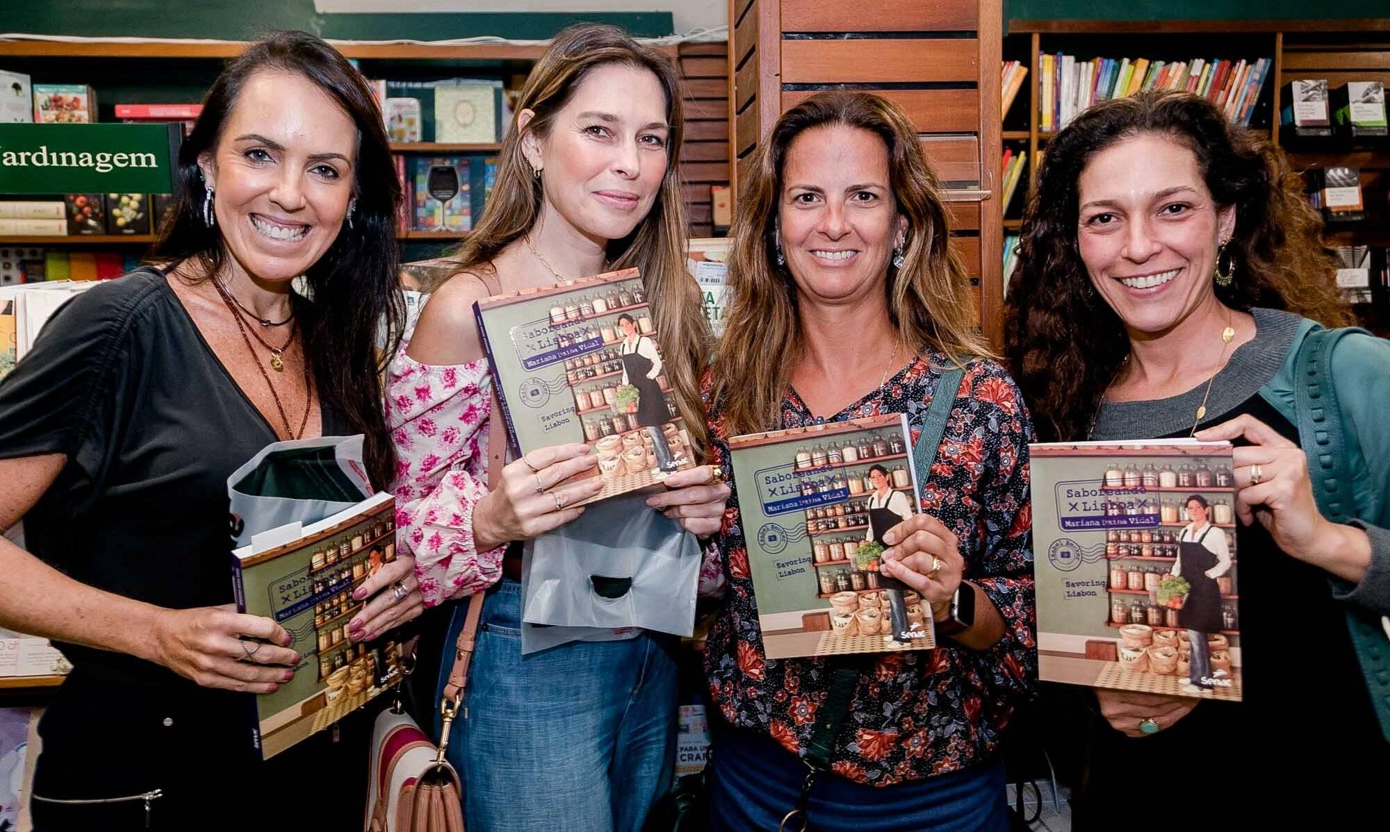 Ana Cecilia Barreto, Teresa Hermanny, Tita Flexa Ribeiro e Bruna Sorrentino Barreto / Foto: Miguel Sá
