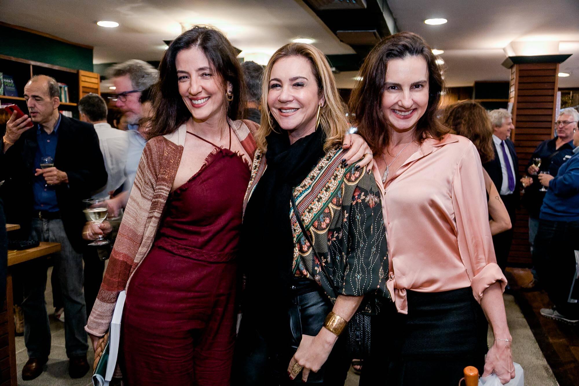 Flavia Annuziato, Rachel Chreem e Carla Ladogano / Foto: Miguel Sá