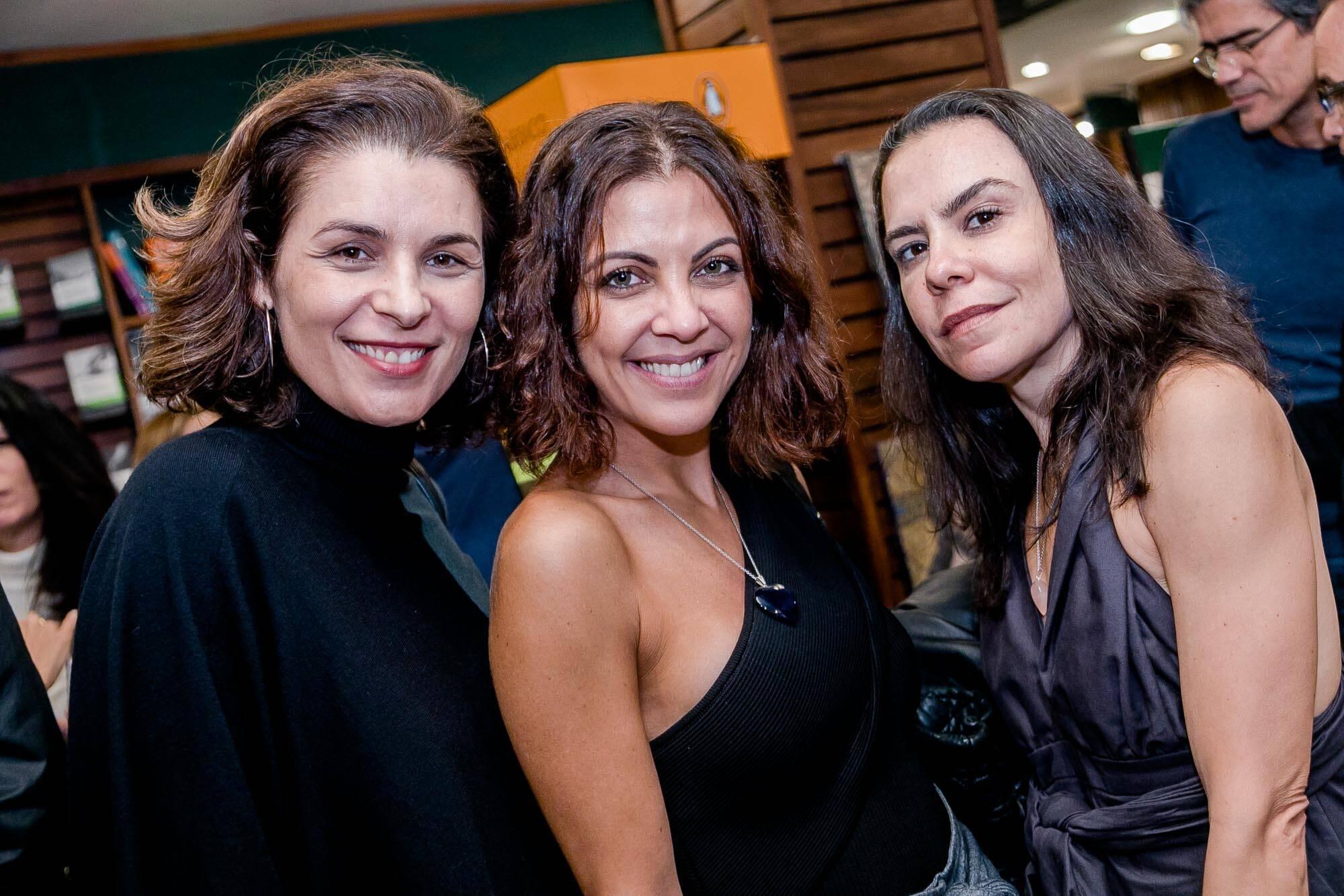 Jeane Terra, Thalita Reboucas e Roberta Senna / Foto: Miguel Sá