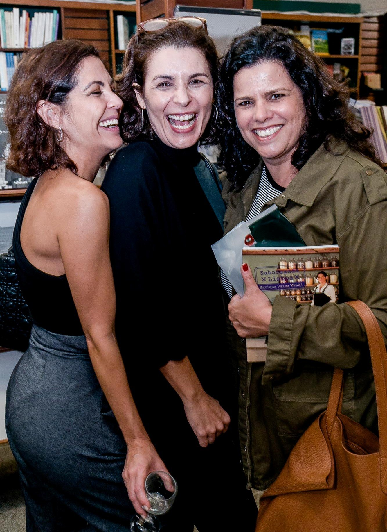 Thalita Reboucas, Jeane Terra e Renata Jebara / Foto: Miguel Sá