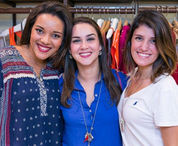 Bruna Vaoli, Manoela Rudge Joppert e Maria Beatriz Areal