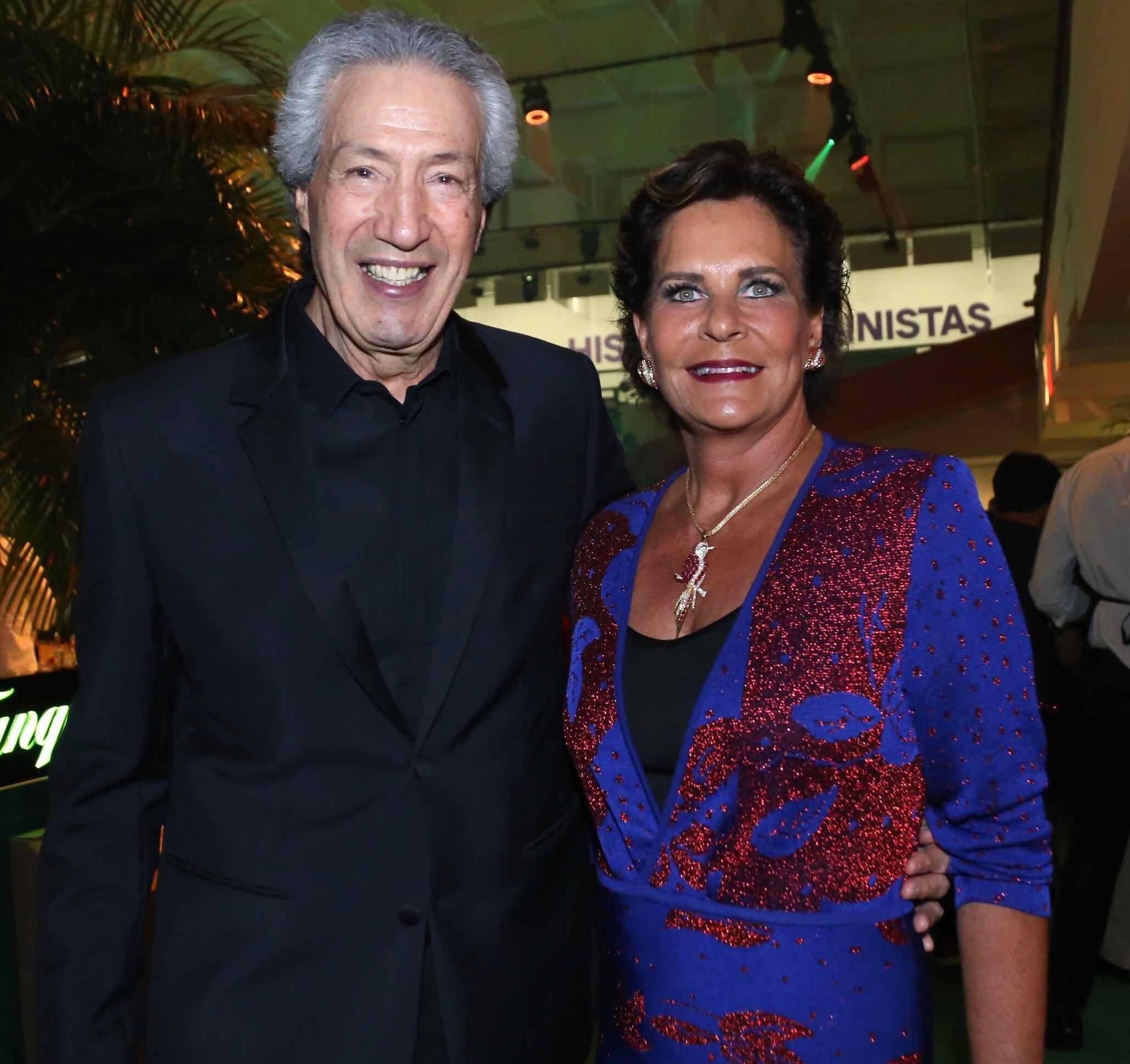 Arnaldo e Lica Diniz /Foto: Denise Andrade