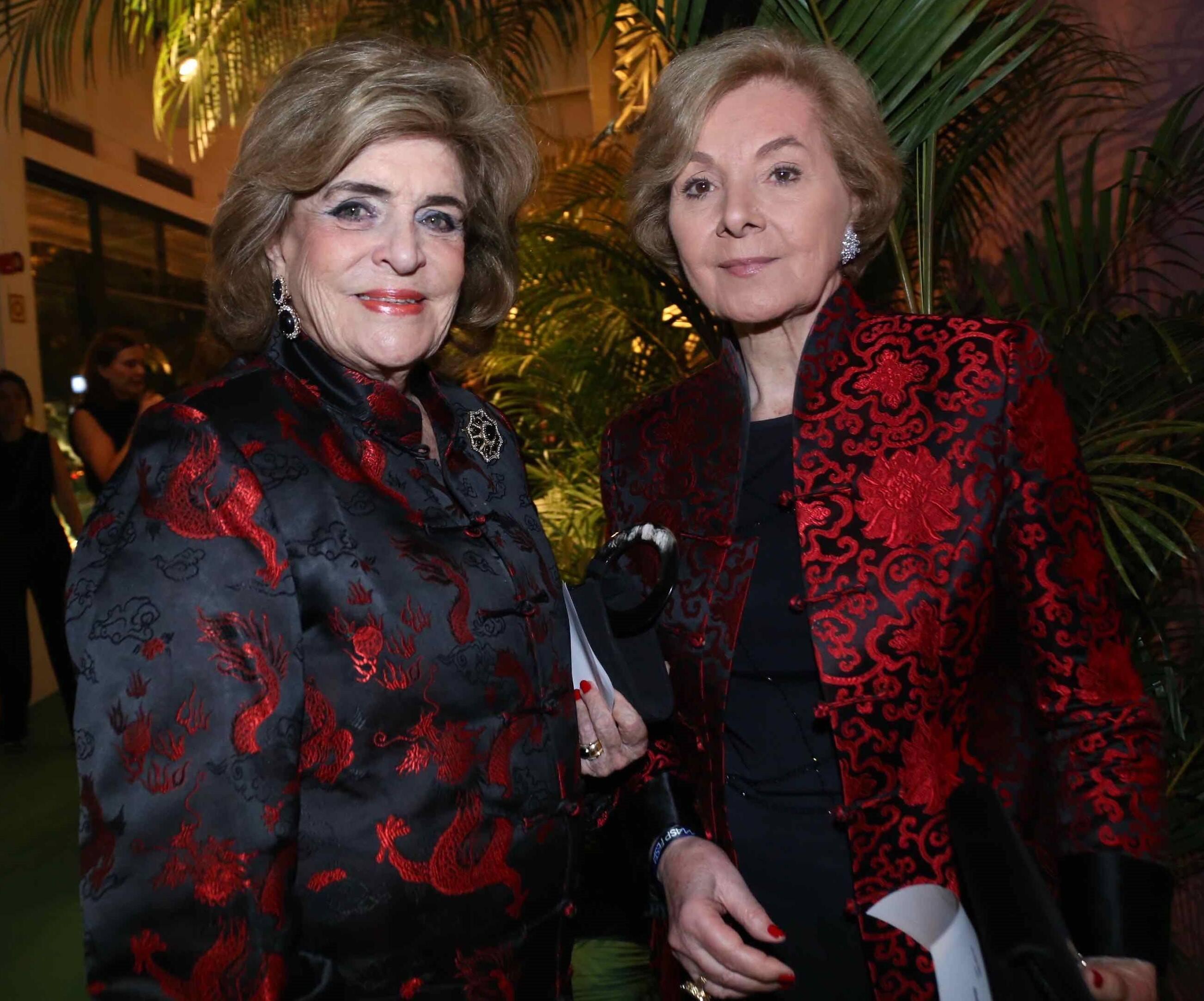 Beatriz Monteiro de Carvalho  e Sylvia Pinho de Almeida /Foto: Denise Andrade