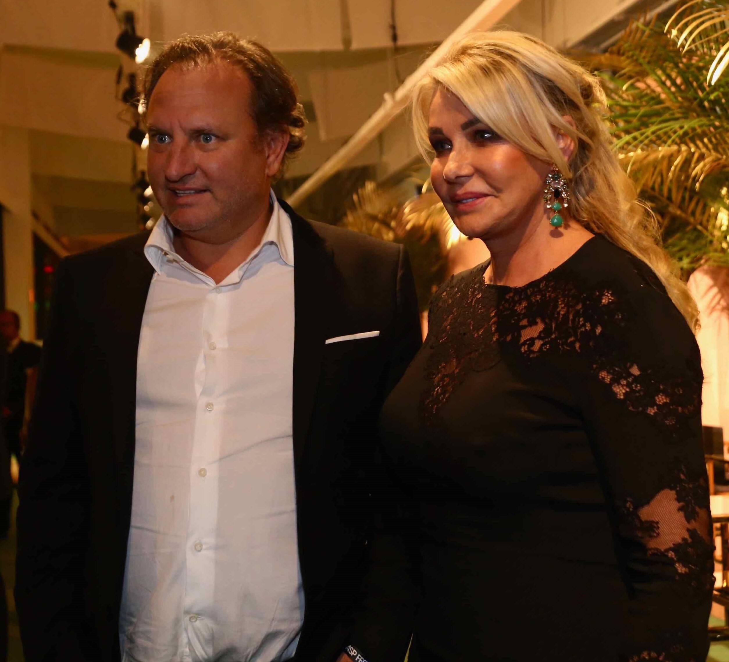 Alexandre Allard e Bia Doria /Foto: Denise Andrade