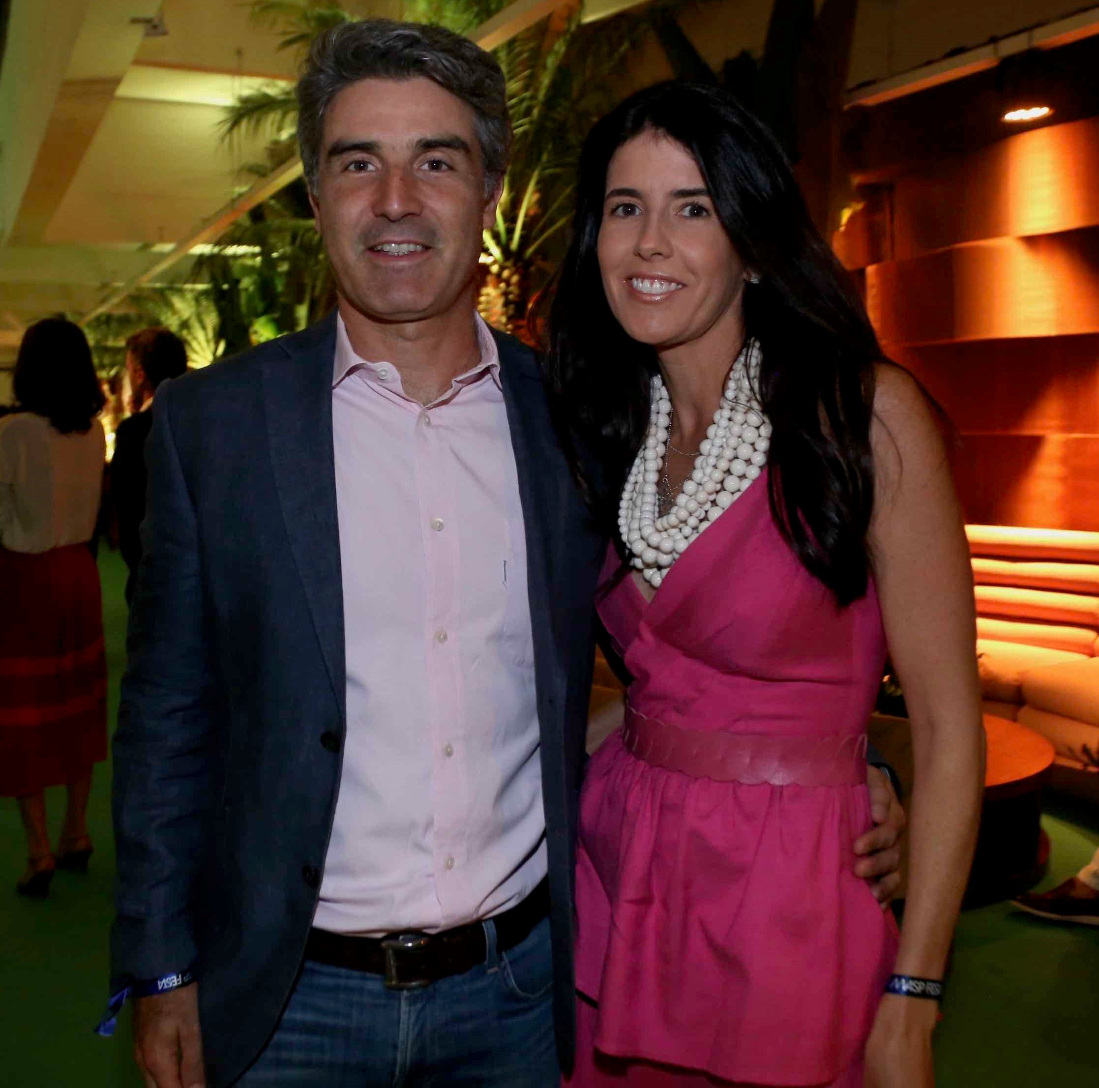 Bruno Garfinkel  e Flavia Velloso /Foto: Denise Andrade