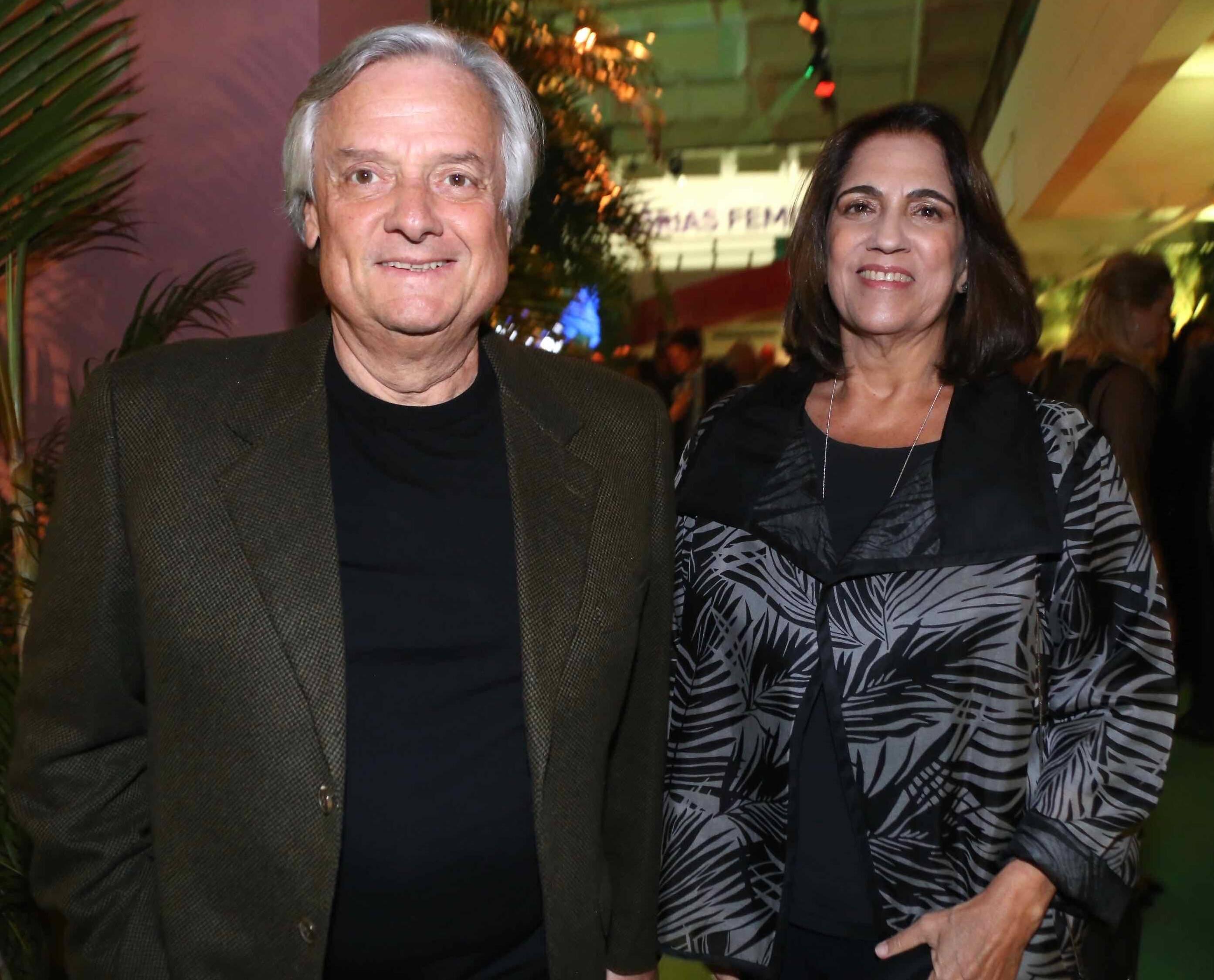 Carlos Eduardo e Maria Helena Sobral  /Foto: Denise Andrade