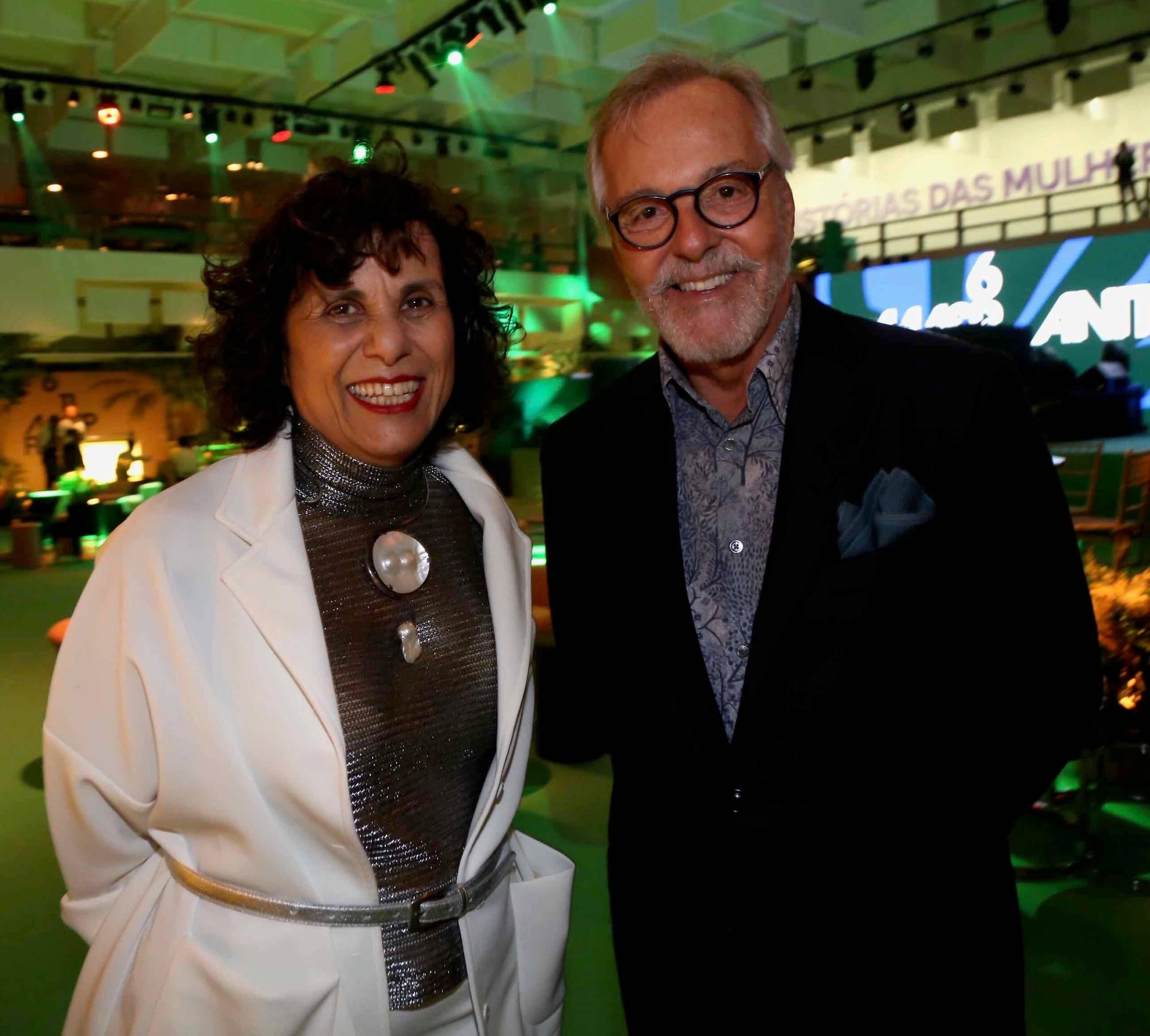 Denise Milan e Cesar Giobbi /Foto: Denise Andrade