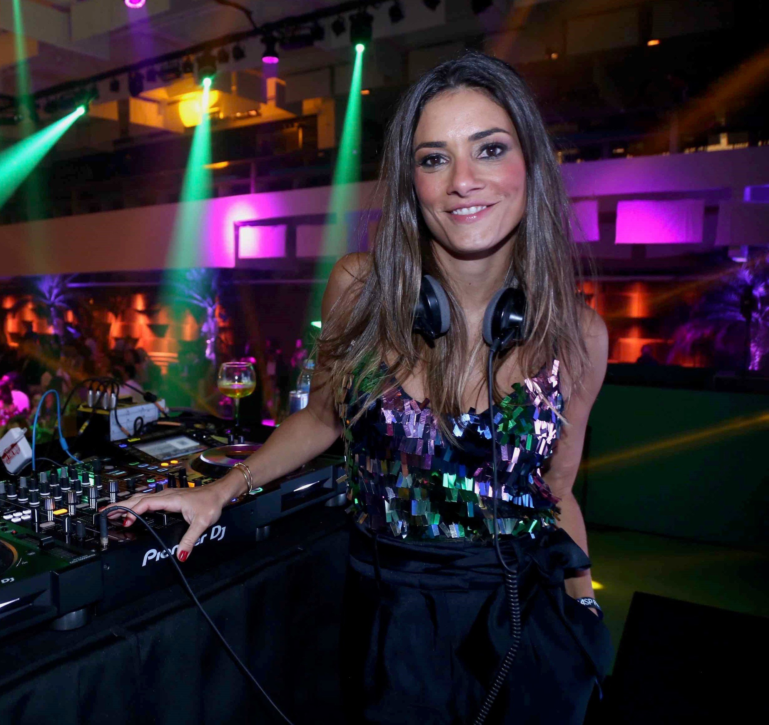 DJ Marina Diniz  /Foto: Denise Andrade