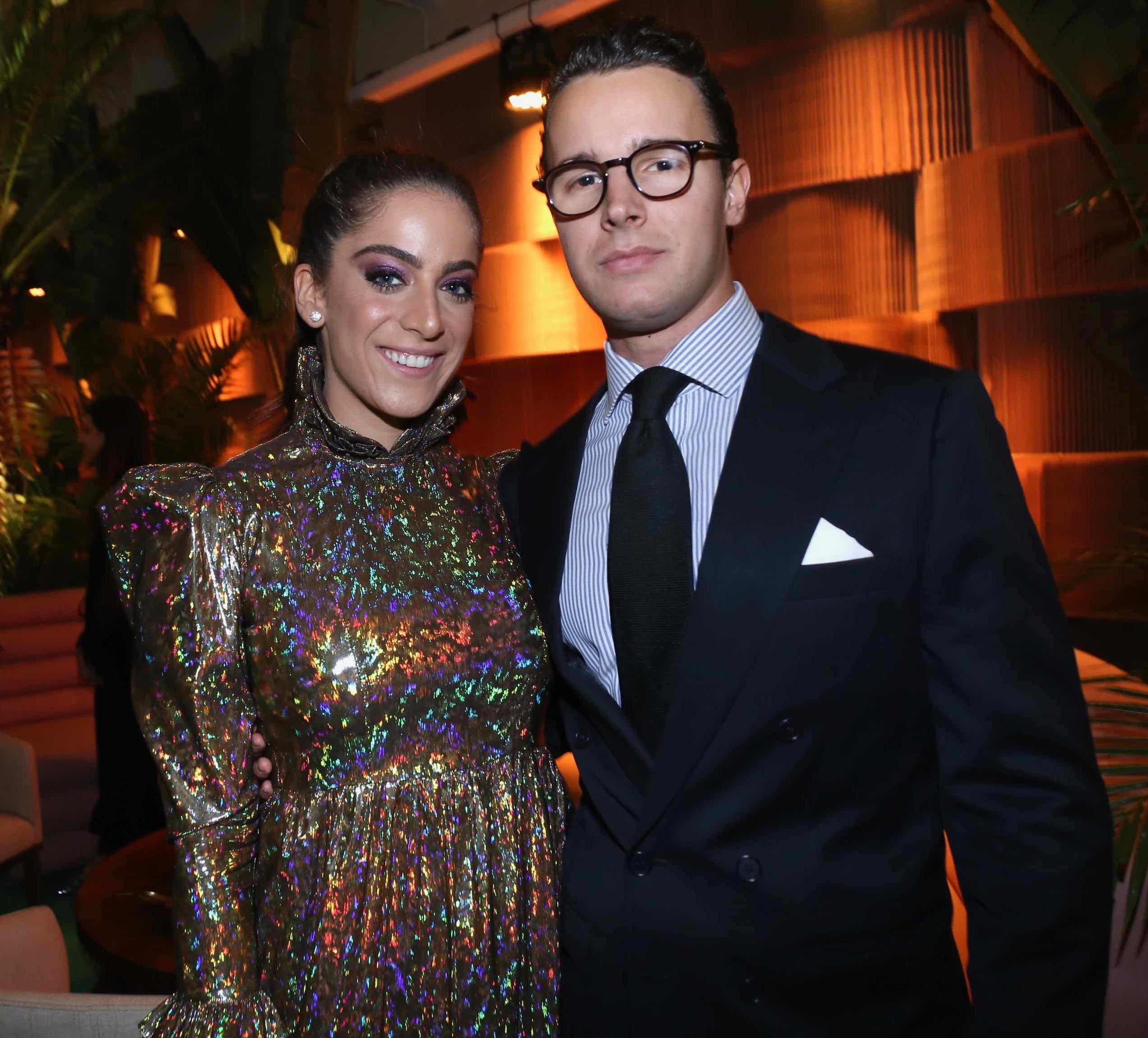 Enrico Beer Boimond e Camila Yunes Guarita /Foto: Denise Andrade