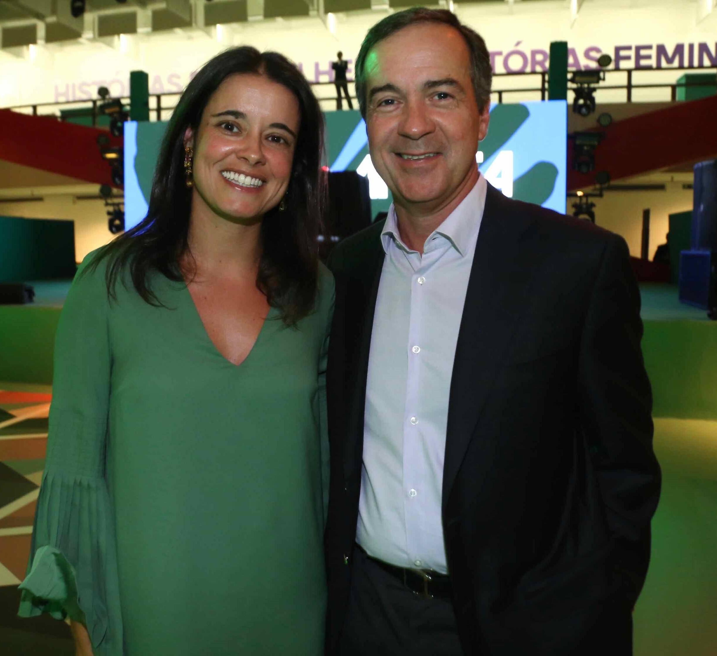 Juliana e Francisco Sá /Foto: Denise Andrade
