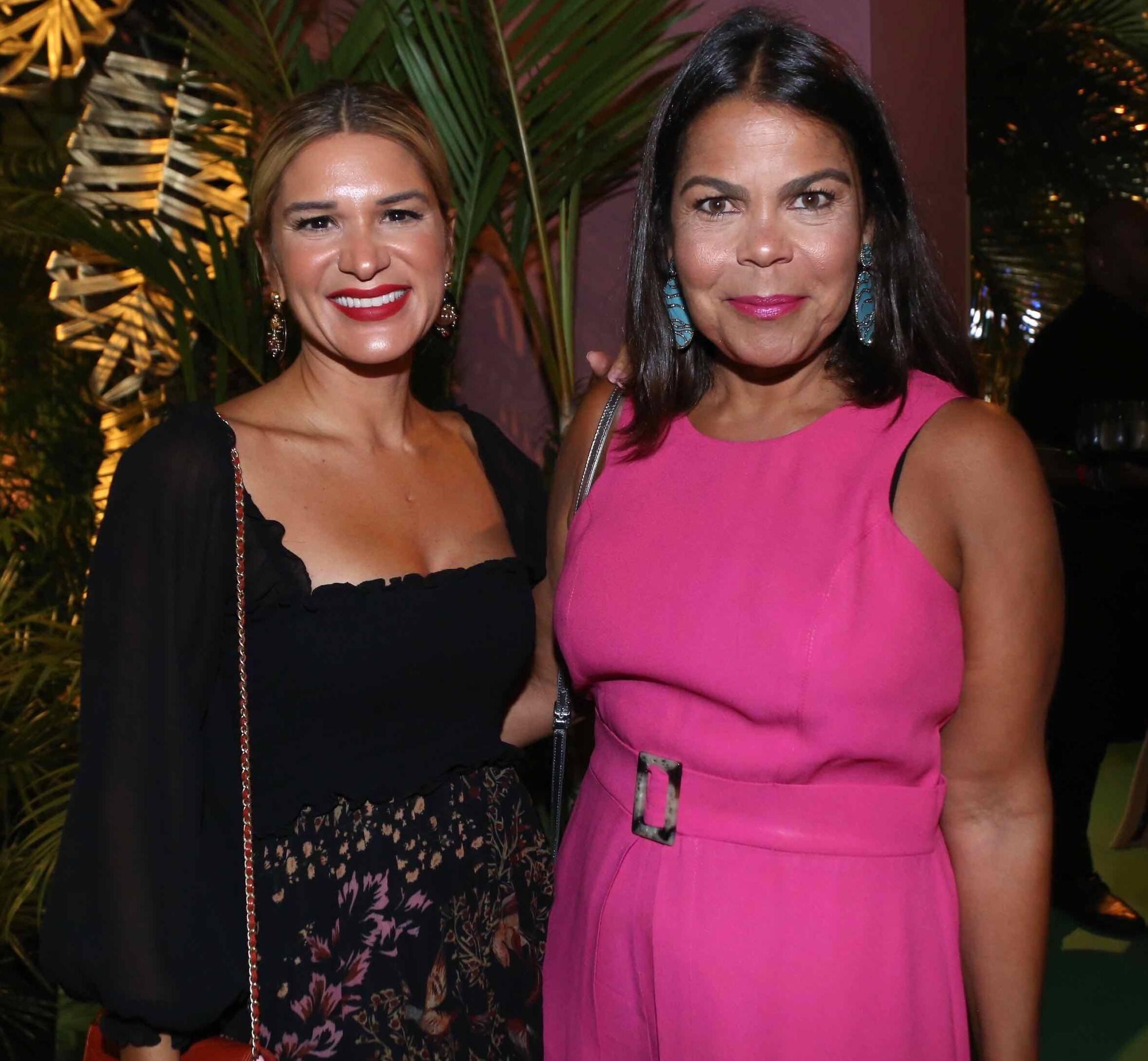 Juliana  Santos e Daniela Falcão  /Foto: Denise Andrade