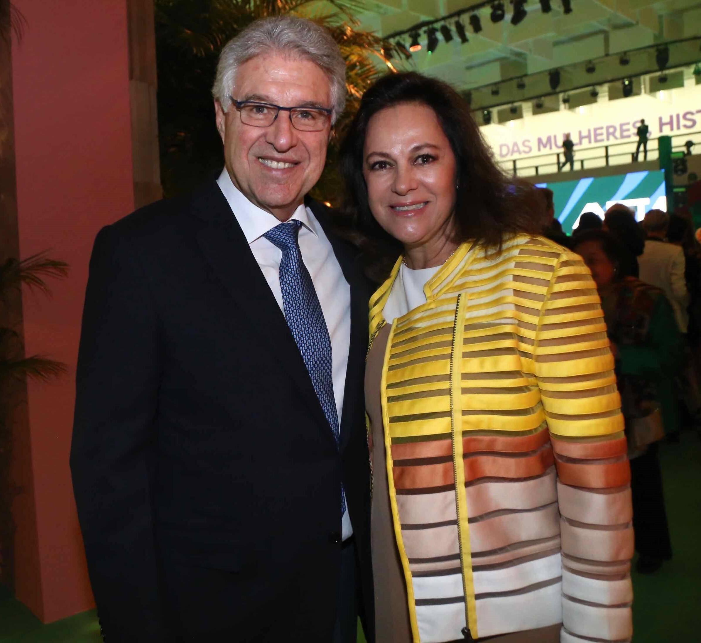 Luiz Francisco Novelli Viana e Eliane Viana  /Foto: Denise Andrade