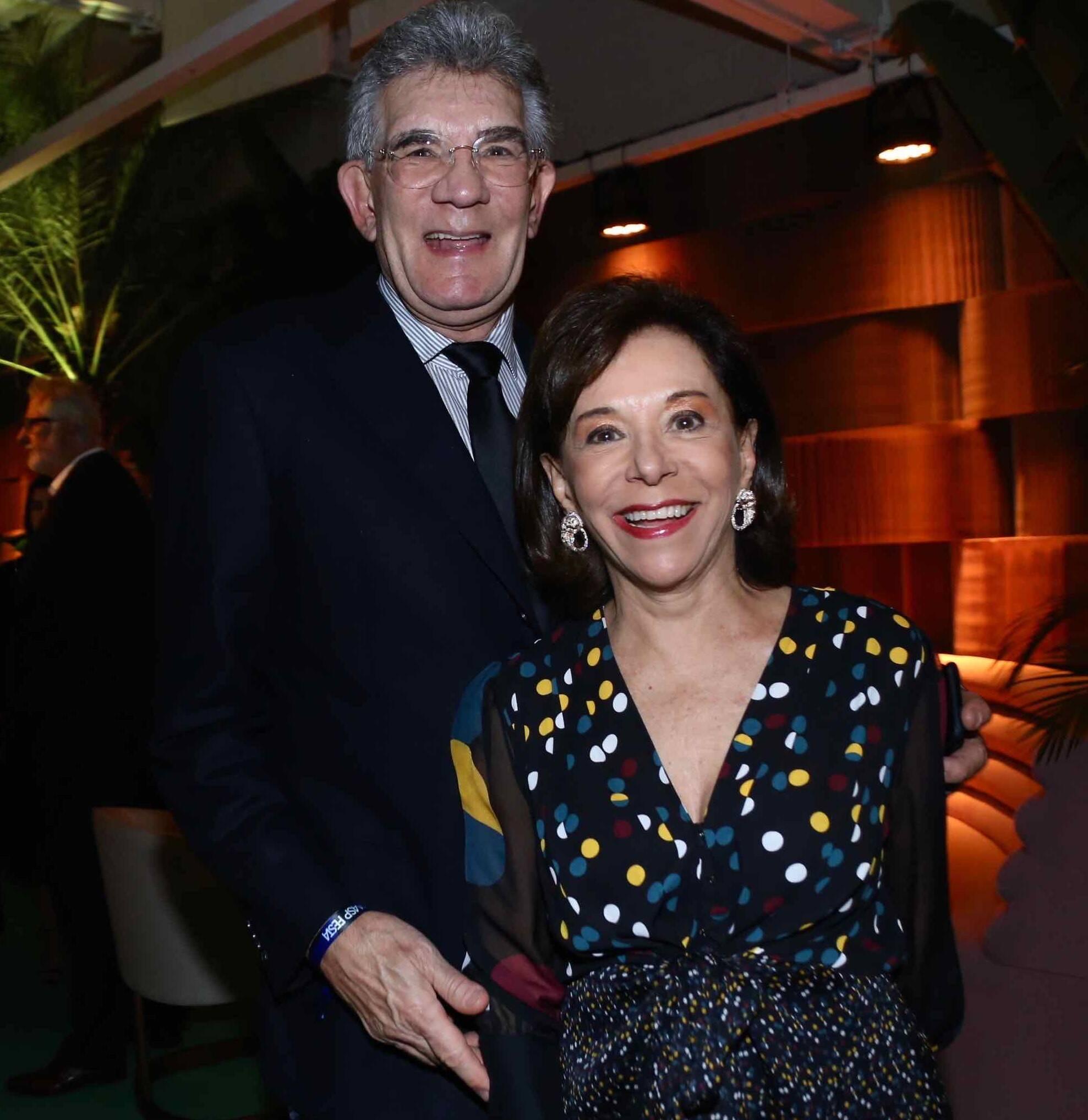 Olavo e Nadia Setubal /Foto: Denise Andrade