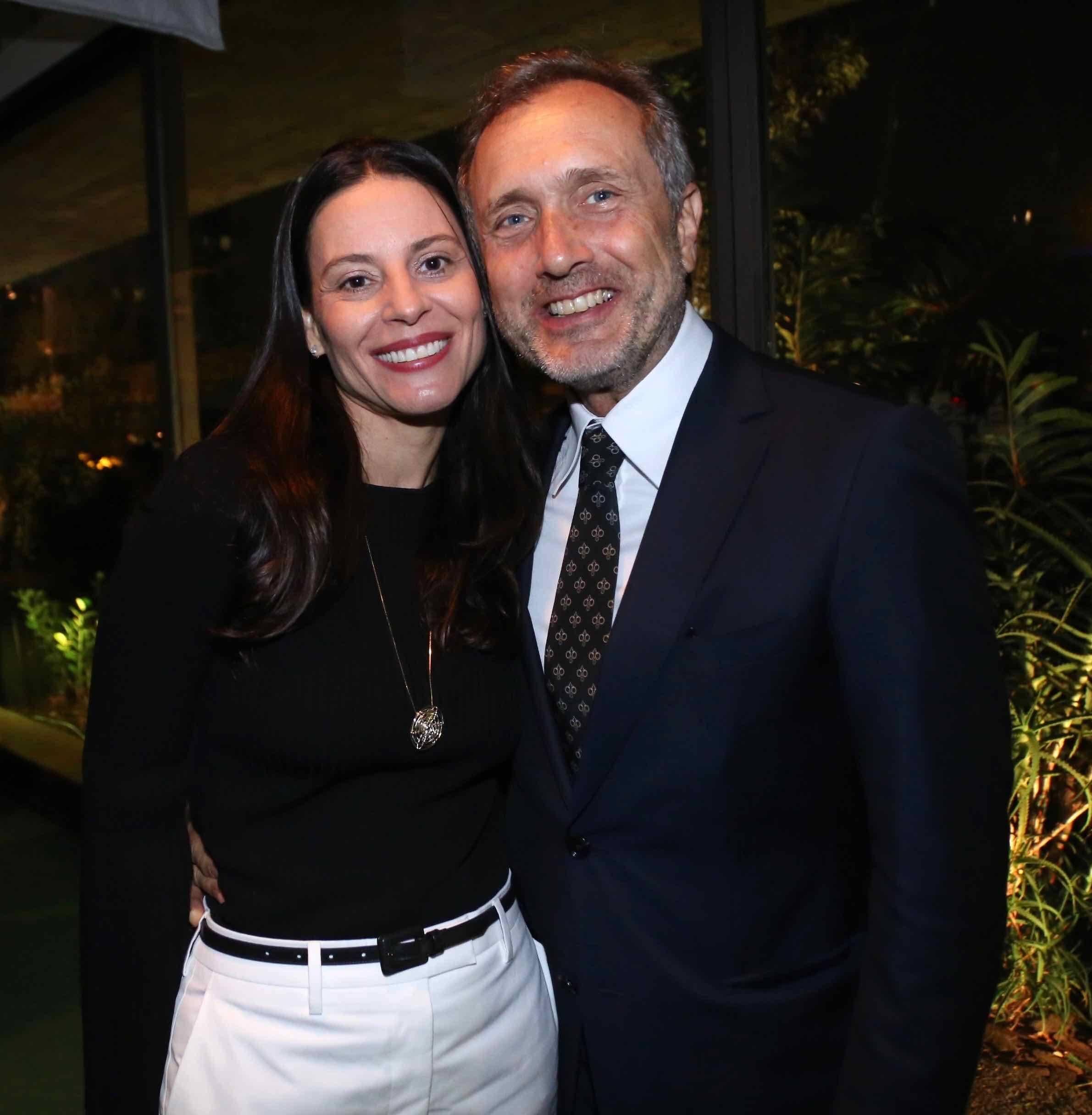 Paula Azevedo e Rene Fernandes /Foto: Denise Andrade