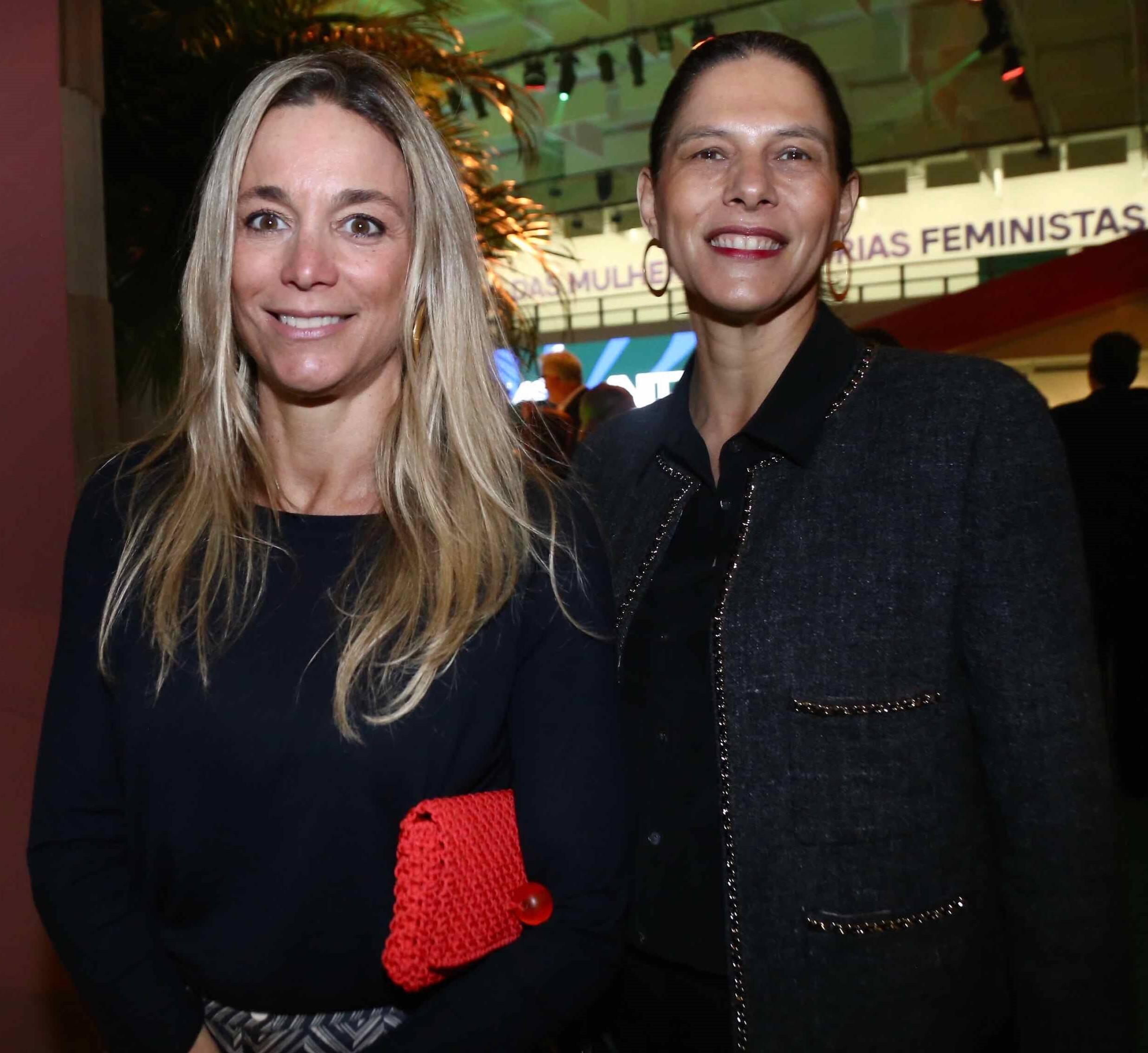 Renata Grabert e Bel Lutz /Foto: Denise Andrade