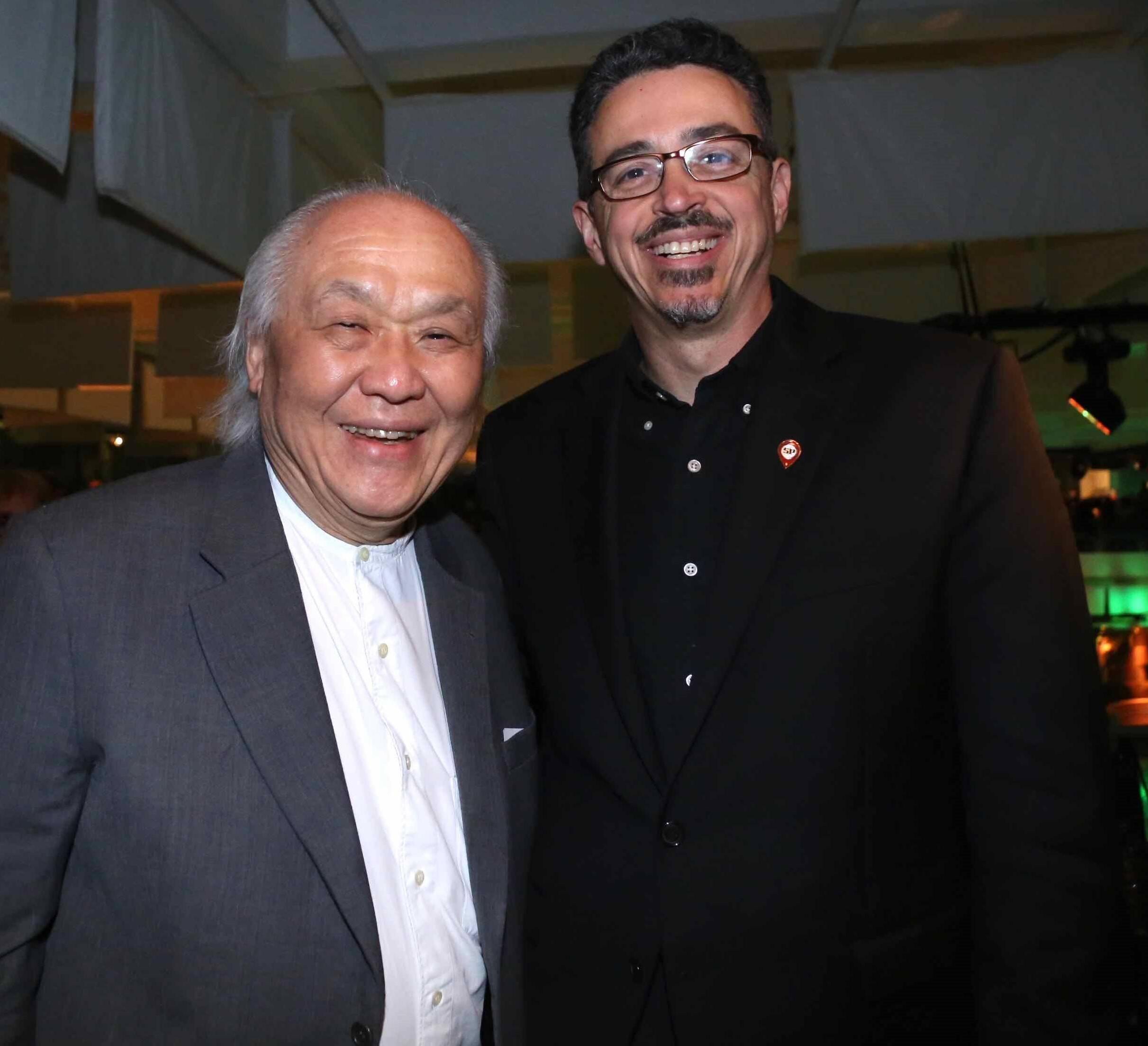 Ricardo Ohtake e Sergio Sá Leitão /Foto: Denise Andrade