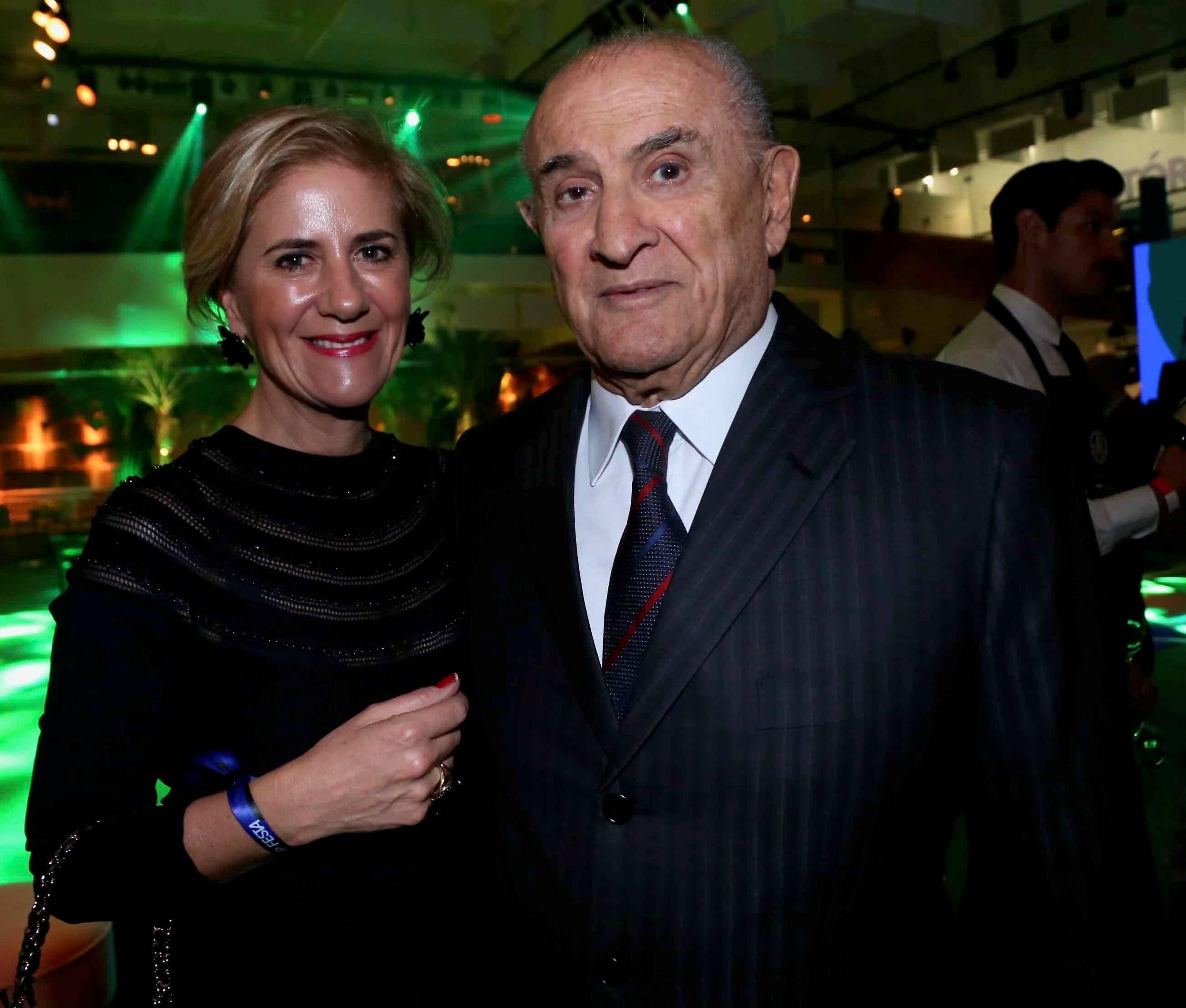 Roberta Rossa e Roberto Cury  /Foto: Denise Andrade
