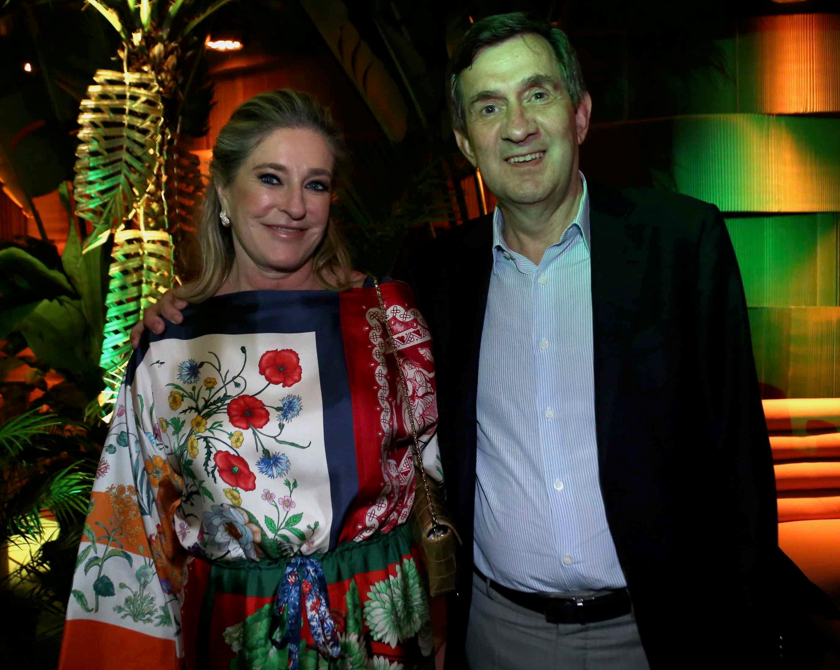 Rose e Alfredo Setubal /Foto: Denise Andrade