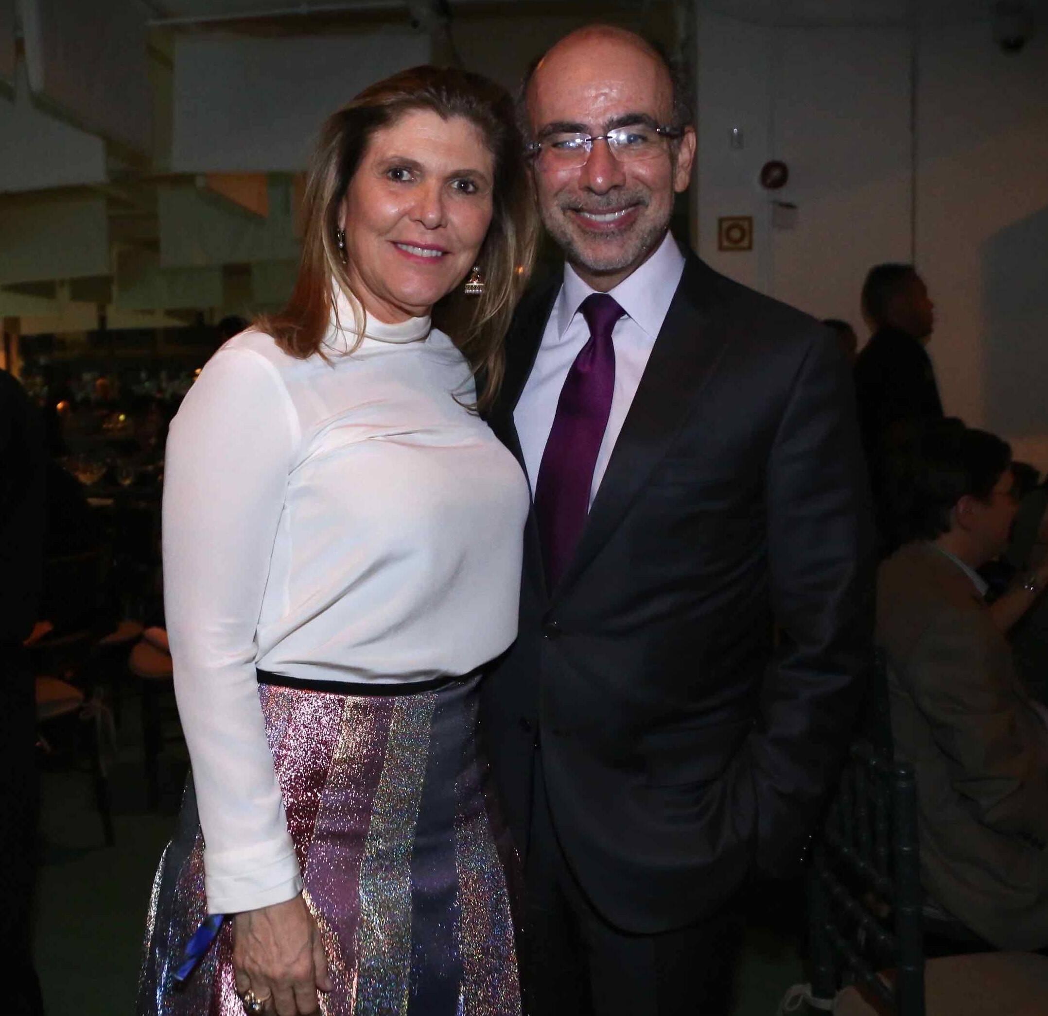 Andrea e José Olympio Pereira /Foto: Denise Andrade