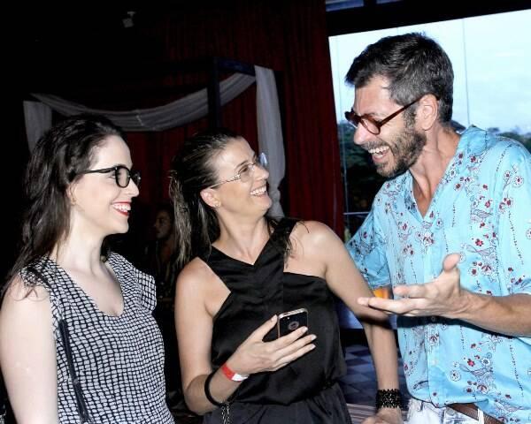 Marcela Darosa, Suzana Tarter e Fernando Vieira