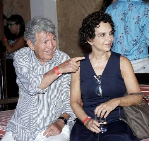 Evandro Teixeira e Mayra Rodrigues