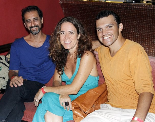 Marcos Duarte, Laura Freitas e Marcelo Vieira