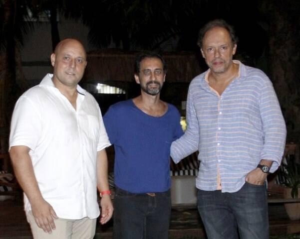 Stephane Menou, Marcos Duarte e Renan Cepeda