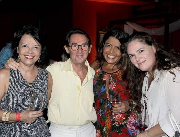 Marcia Melo, Marc Pottier, Anna Acciolly e Anna Kahn