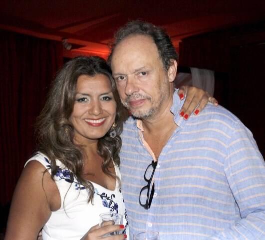 Beatriz Canales e Renan Cepada