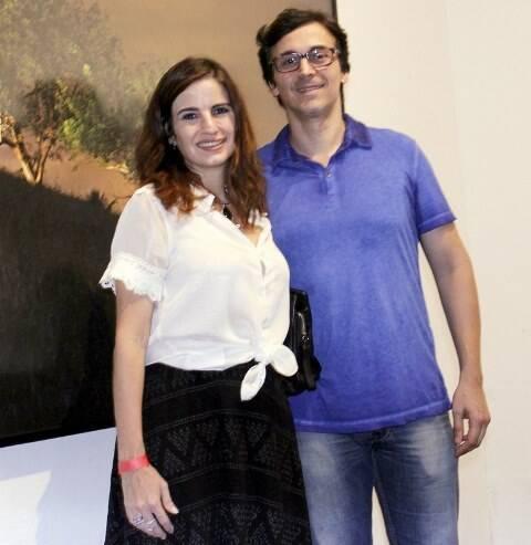 Renata Fadel e Sergio Allevato
