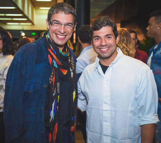 Olivier Anquier e Felipe Bronze