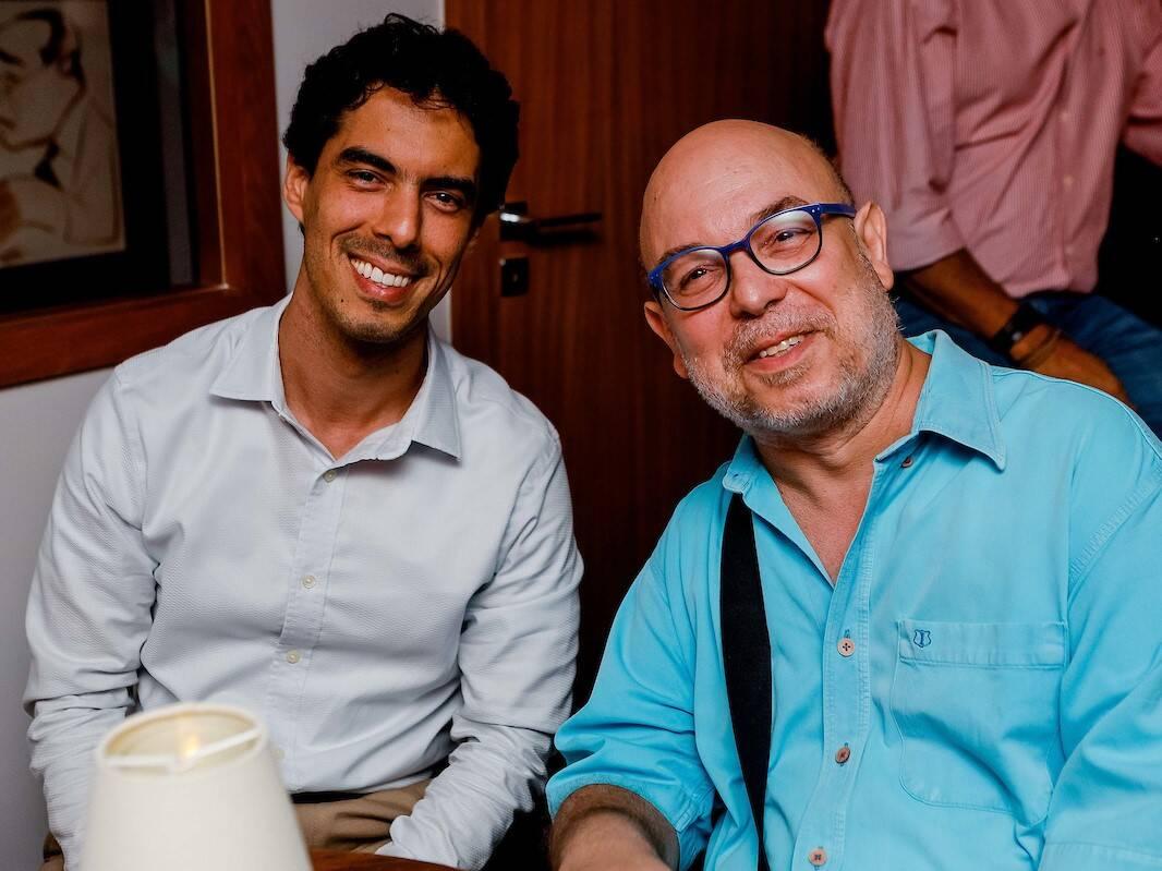 Gustavo Moura e Mauro Ferreira /Foto: Bruno Ryfer e Miguel Sá