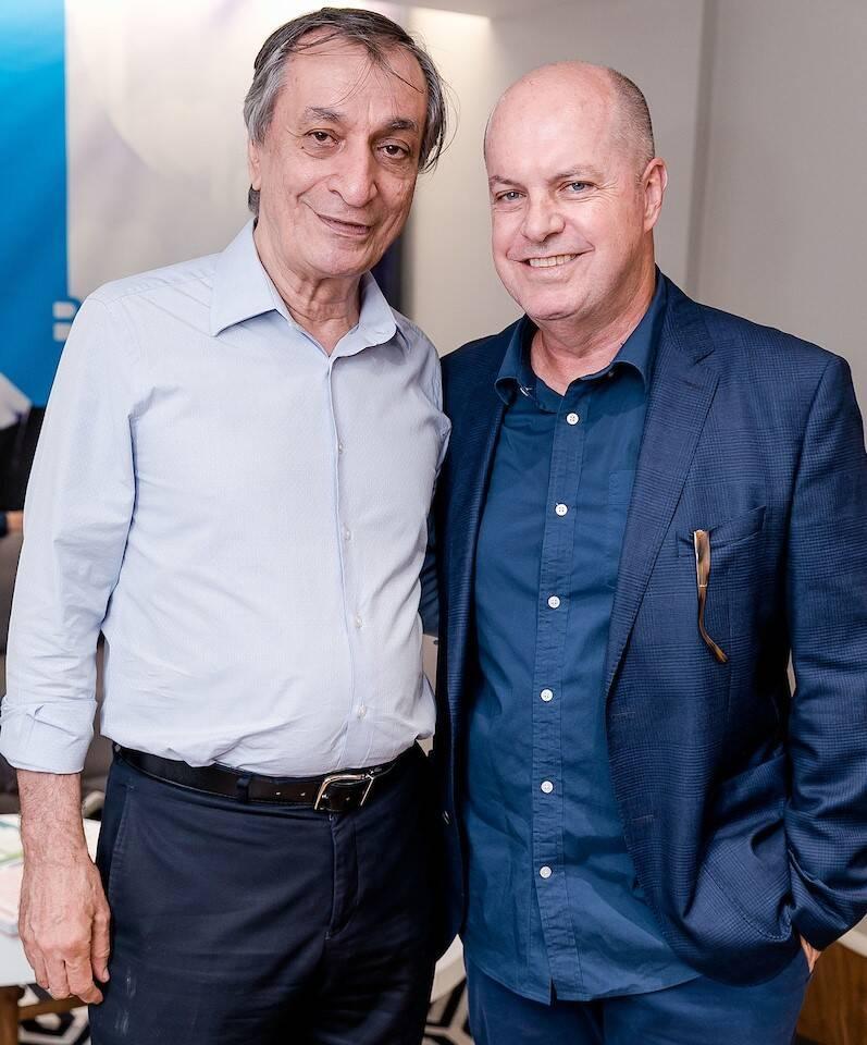 Antonio Cicero e Marcelo Castello Branco /Foto: Bruno Ryfer e Miguel Sá
