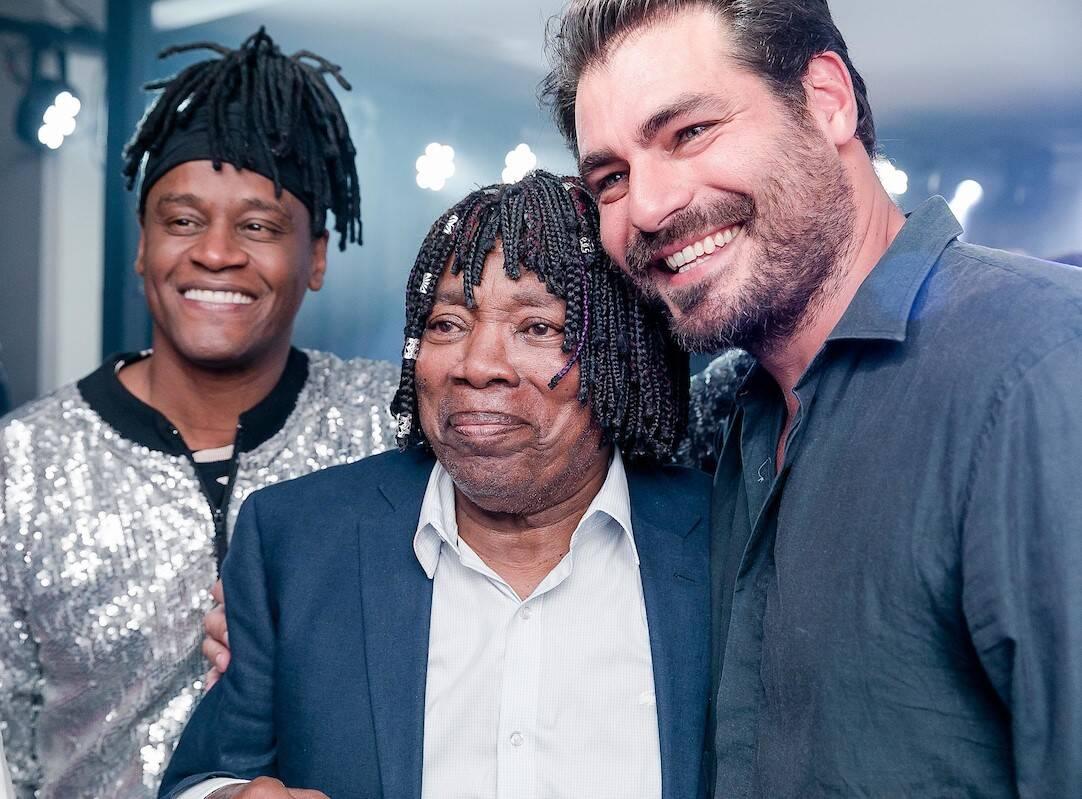 Toni Garrido, Milton Nascimento e Thiago Lacerda /Foto: Bruno Ryfer e Miguel Sá