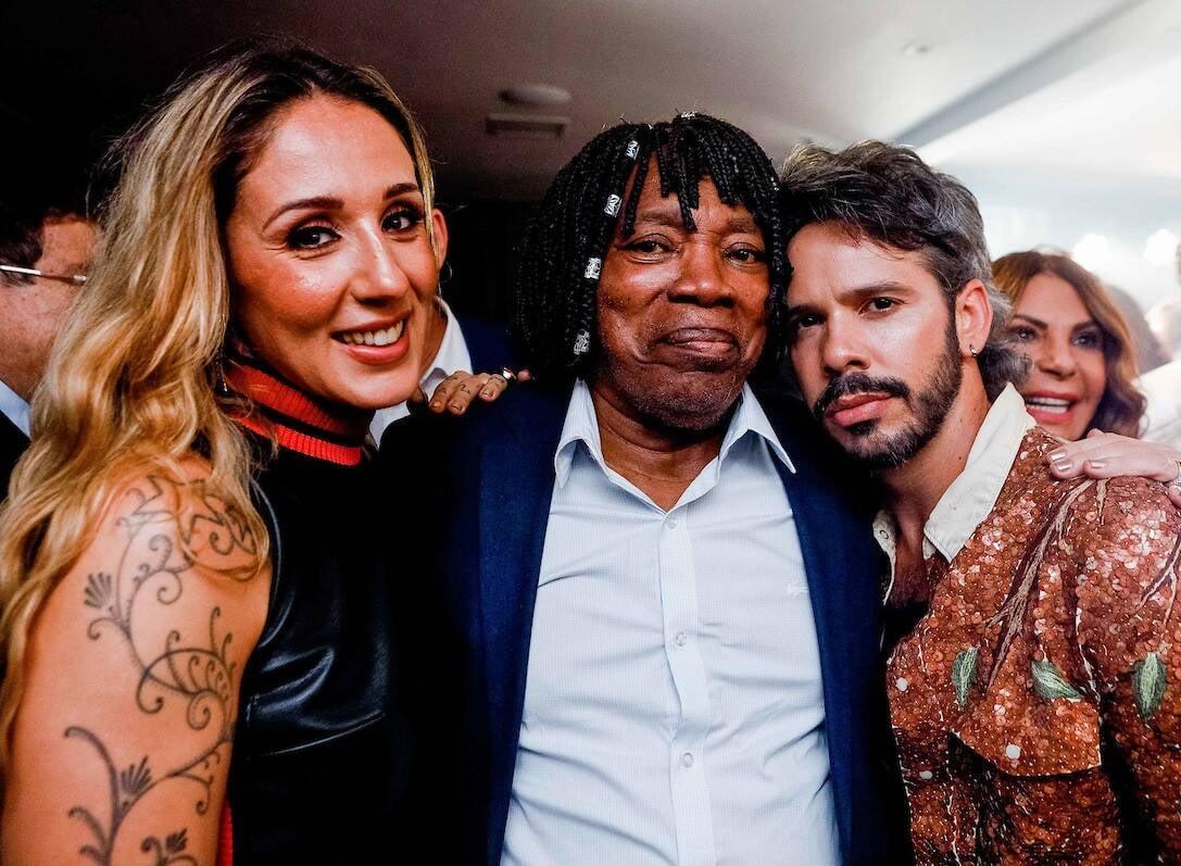 Anna Lu, Milton Nascimento e Almério /Foto: Bruno Ryfer e Miguel Sá