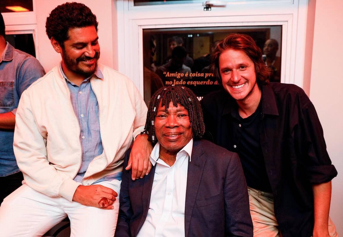 Criolo, Milton Nascimento e Rubel /Foto: Bruno Ryfer e Miguel Sá