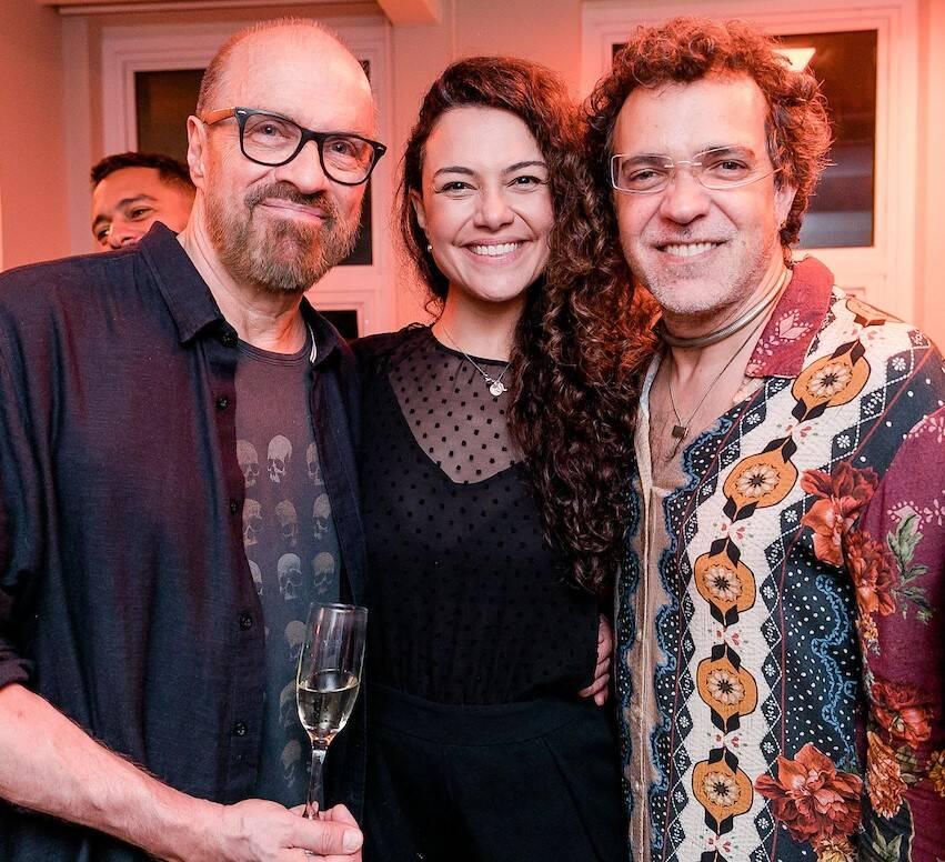 Liminha, Carol Fazu e Paulo Moska /Foto: Bruno Ryfer e Miguel Sá