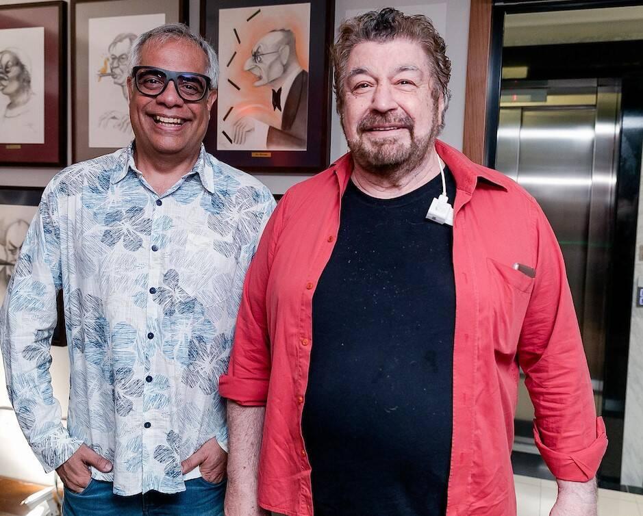 Marcelo Da Cruz Silva e Wagner Tizo /Foto: Bruno Ryfer e Miguel Sá
