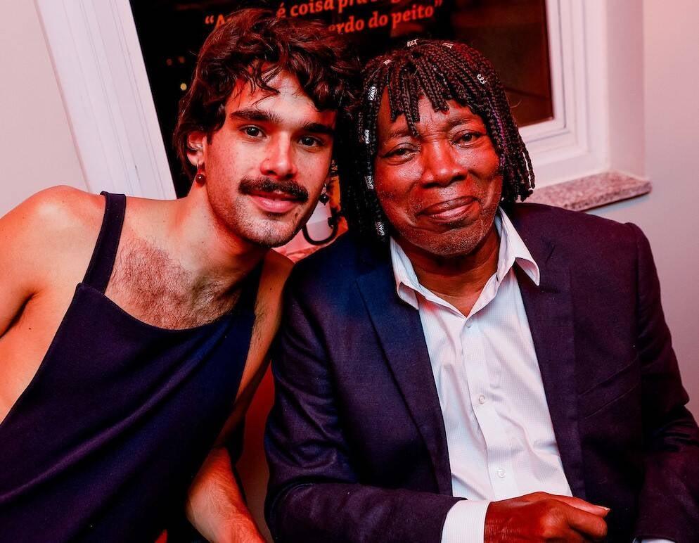 Zé Ibarra e Milton Nascimento /Foto: Bruno Ryfer e Miguel Sá